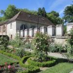 Rosengarten an der Abtei Chaalis